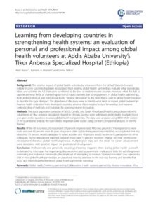 thumbnail of Learning from developing countries in strenghtening health system…2014